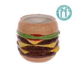 Taza original en forma de hamburguesa